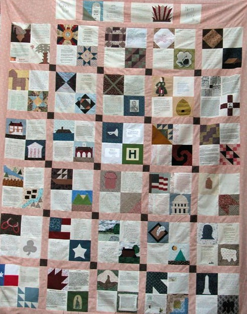 Nifty Fifty Quilters of America Civil War Quilt Blocks : civil war quilt blocks - Adamdwight.com