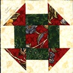 idaho monkey wrench quilt block