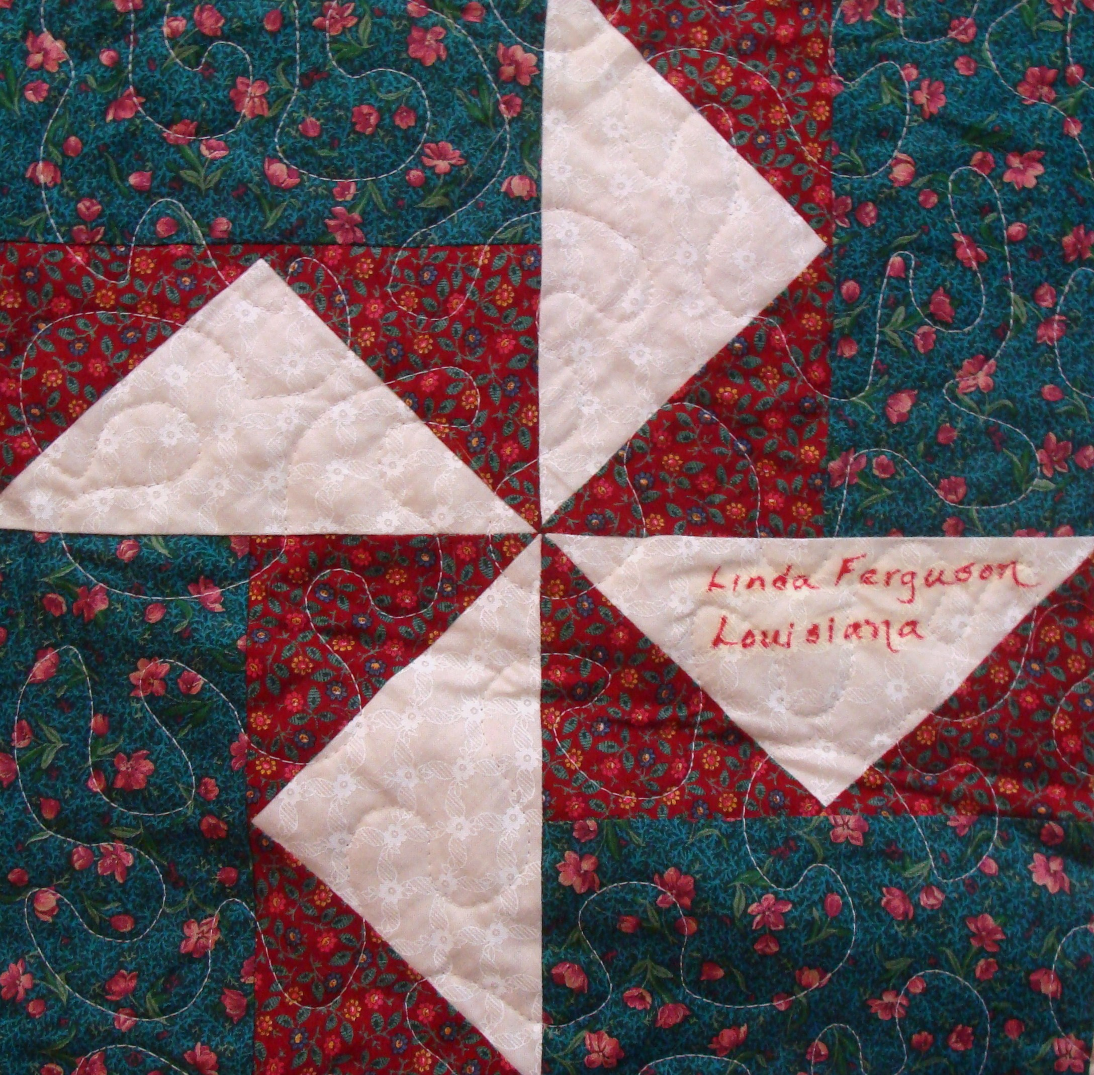 Nifty Fifty Quilters Of America Third 50 State Quilt Block