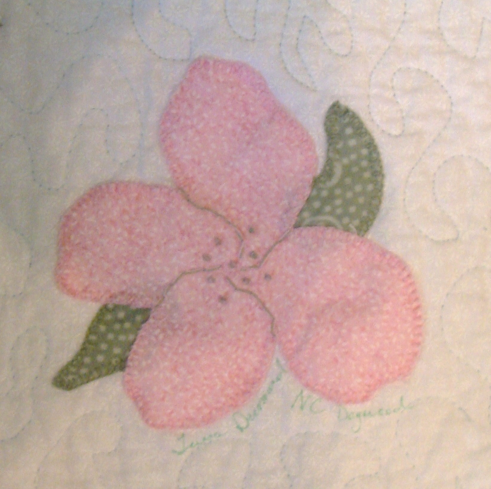 Nifty Fifty Quilters Of America 50 State Flower Quilt