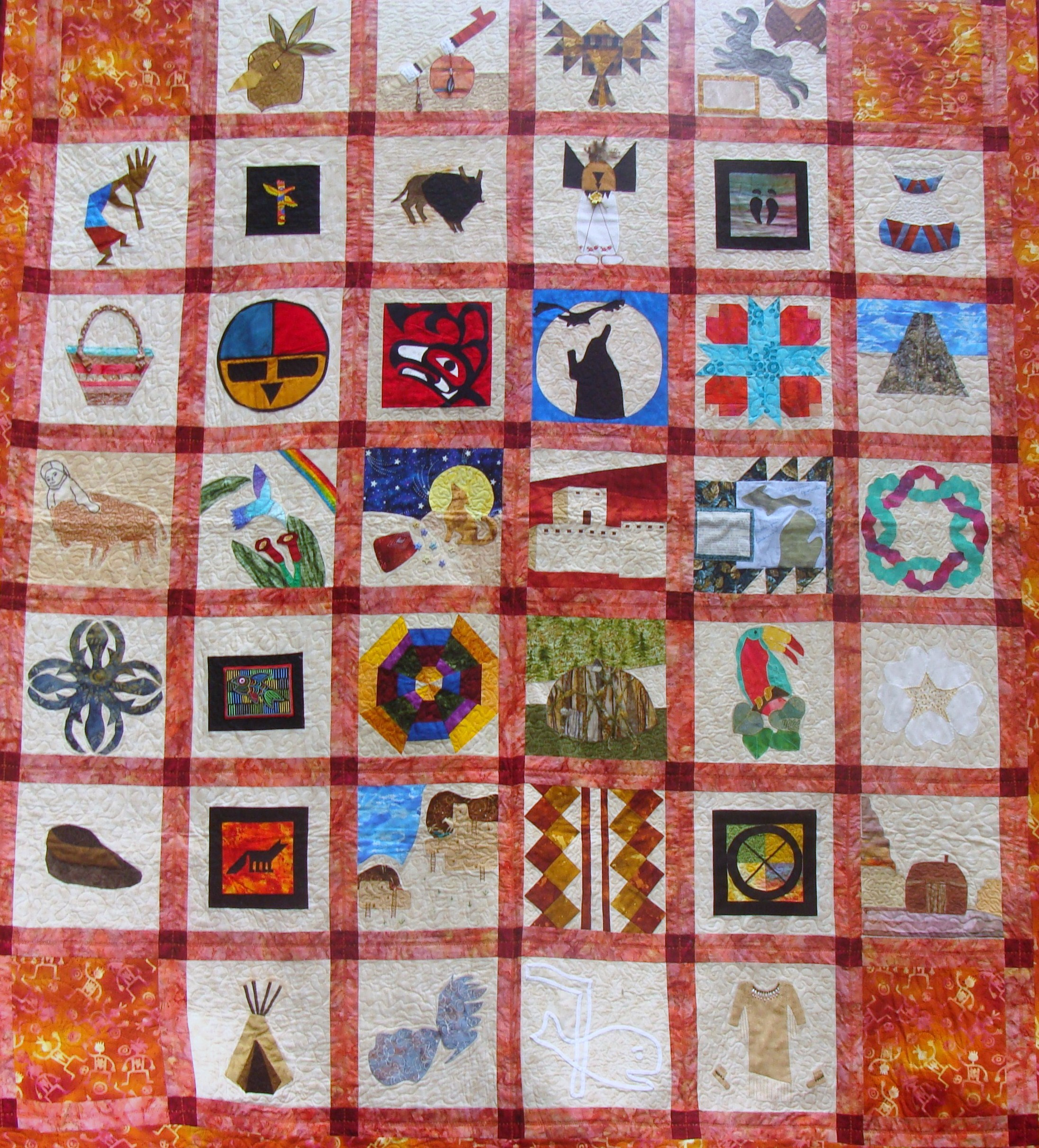 Native American Quilt Patterns Free http://www.pic2fly.com/Free+Native+American+Quilt+Patterns.html