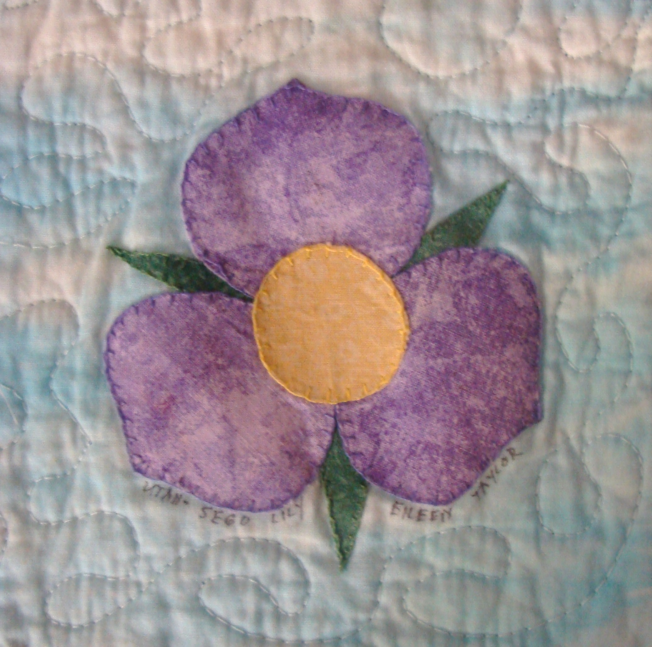 Nifty Fifty Quilters of America 50 State Flower Quilt Block Swap