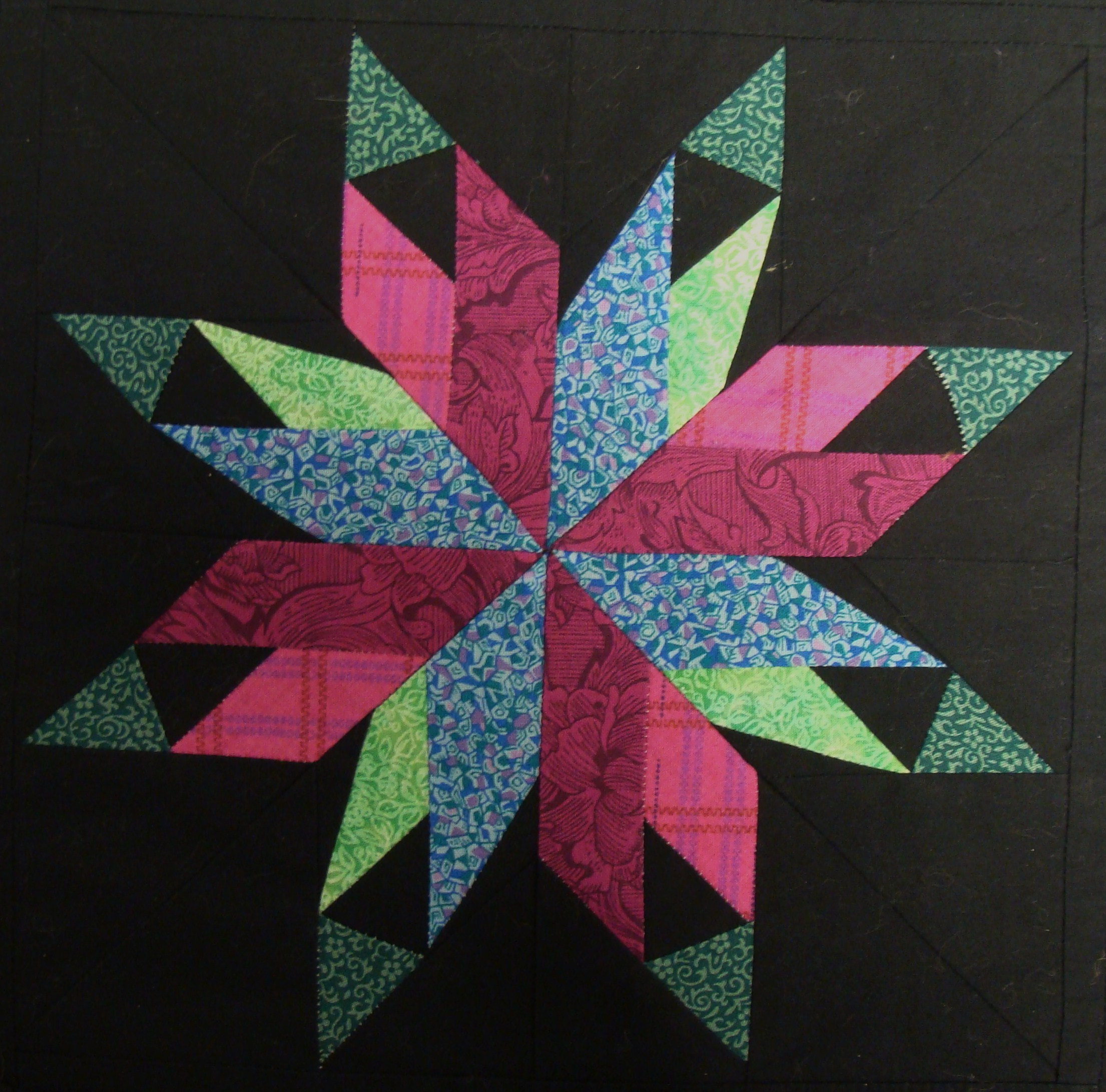 Nifty Fifty Quilters of America Carol Doak's Paper-pieced Star Blocks : star blocks for quilts - Adamdwight.com