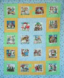 children's quilt pattern