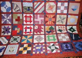 scrappy nifty fifty quilt