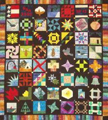 nifty fifty 50 state quilt