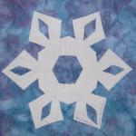 west virginia snowflake quilt block