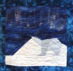 alaska northern lights quilt block
