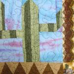 arizona cactus quilt block