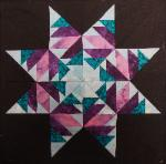 arkansas carol doak's paper pieced star quilt block