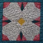 arkansas dogwood quilt block