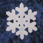 arizona snowflake quilt block