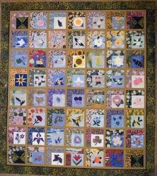 nifty fifty state flower quilt