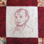 illinois abraham lincoln quilt block