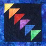 illinois flying geese quilt block
