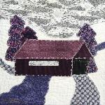 indiana covered bridge quilt block