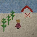 iowa sunbonnet sue quilt block