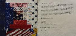 kentucky 9/11 quilt block