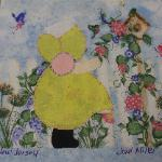 new jersey sunbonnet sue quilt block