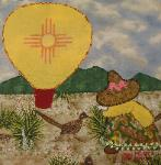 new mexico sunbonnet sue quilt block