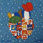 new york sunbonnet sue quilt block