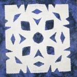 new mexico snowflake quilt block