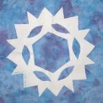 oregon snowflake quilt block