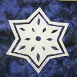 tennessee snowflake quilt block