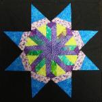 carol doaks north carolina star quilt block