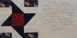 south carolina 9/11 quilt block