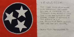 tennessee 9/11 quilt block