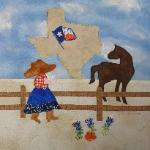 texas sunbonnet sue quilt block