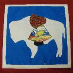 wyoming sunbonnet sue quilt block